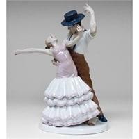 Статуэтка из фарфора «Фламенко» VS-08 (Pavone)