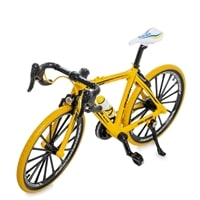 Фигурка велосипед «Crazy Bicycle» VL-01/1 (желтый)