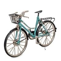 Фигурка велосипед «Женский» VL-06/1 (голубой)