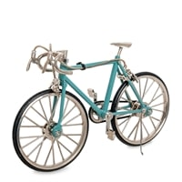 Фигурка велосипед «Шоссейный» VL-08/1 (голубой)