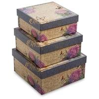 Набор из 3-х подарочных коробок WG-09