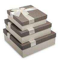 Набор из 3-х подарочных коробок WG-22