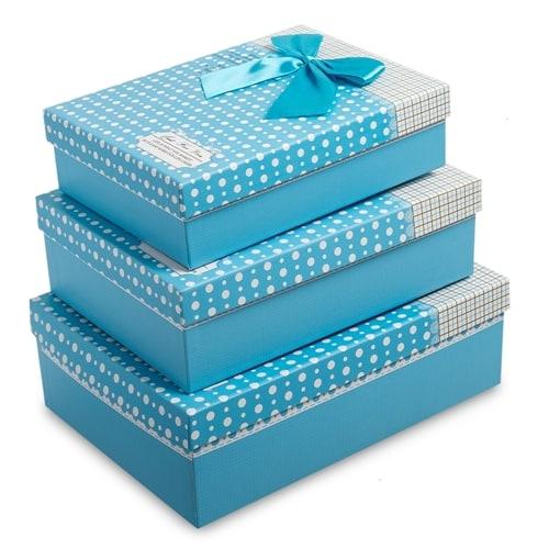 Набор из 3-х подарочных коробок WG-30