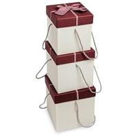 Набор из 3-х подарочных коробок WG-33