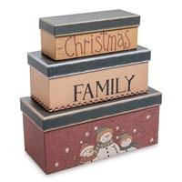 Набор из 3-х подарочных коробок WG-47