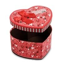Набор из 3-х подарочных коробок «Сердце» WG-56