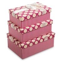 Набор из 3-х подарочных коробок WG-57
