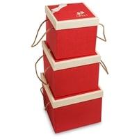 Набор из 3-х подарочных коробок WG-64