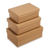 Набор из 3-х подарочных коробок «Браун» WG-107