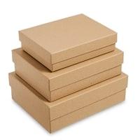 Набор из 3-х подарочных коробок «Браун» WG-112
