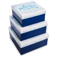 Набор 3-х подарочных коробок WG-118