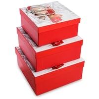 Набор 3-х подарочных коробок WG-121