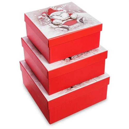 Набор 3-х подарочных коробок WG-125