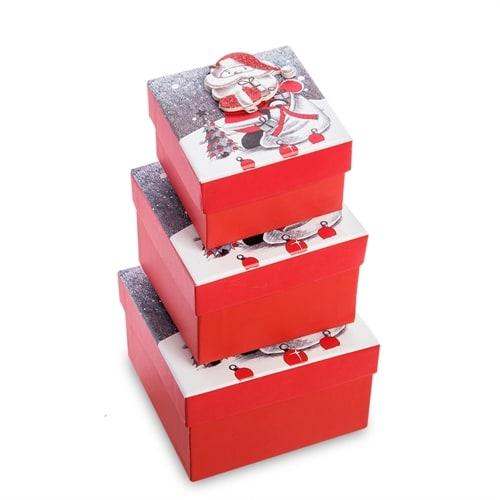 Набор 3-х подарочных коробок WG-126