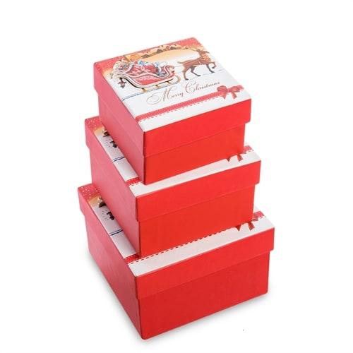 Набор 3-х подарочных коробок WG-127