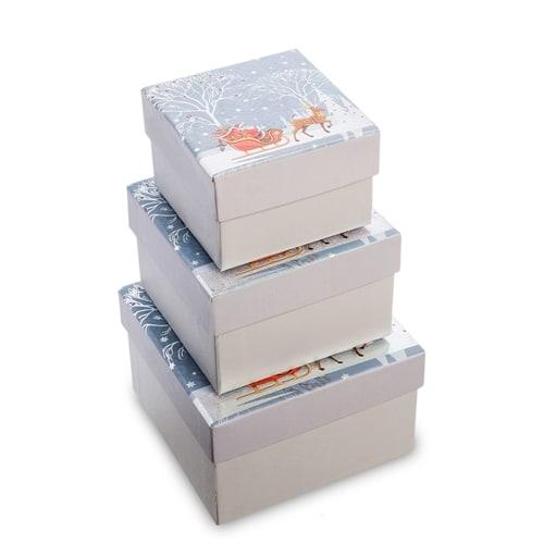 Набор 3-х подарочных коробок WG-128