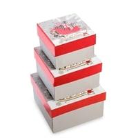 Набор 3-х подарочных коробок WG-130