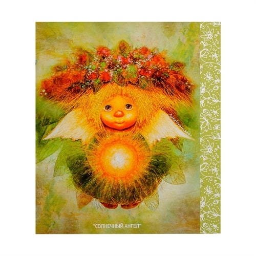 Открытка «Солнечный ангел» ANG-181