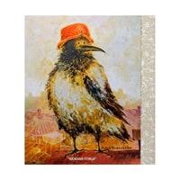 Открытка «Важная птица» ANG-278