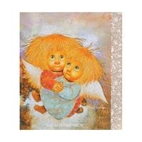 Открытка «Ангелы теплых чувств» ANG-336