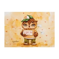 Почтовая открытка «I love you» SZ-131