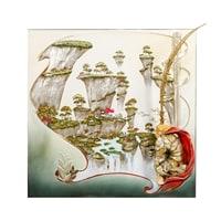 Панно «Сунь Укун - царь обезьян» ART-109