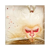 Панно «Сунь Укун - царь обезьян» ART-111