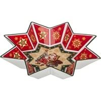 Салатник из фарфора «Санта Клаус» (Christmas Collection)