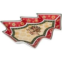 Блюдо из фарфора «Колокольчики» (Christmas Collection)