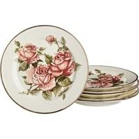 Набор из 6-и фарфоровых «Корейская роза»