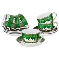 Чайный набор из фарфора на 6 персон «Сура»