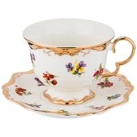 Чайная пара из фарфора «Роял Жардин»