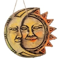 Панно «Солнце-Луна» KK-212 (шамот)