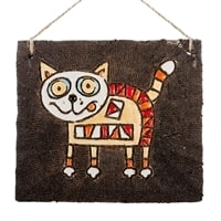 Панно «Котенок» KK-11 (шамот)