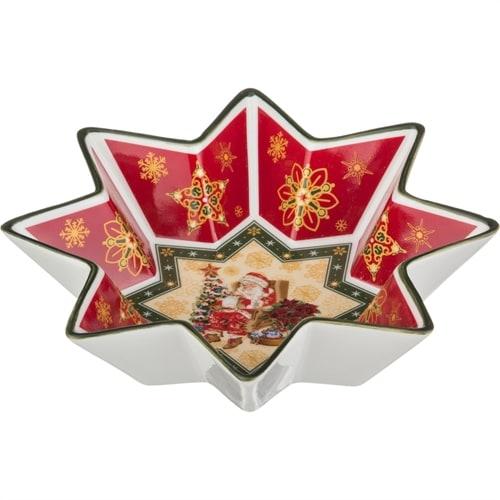 Салатник из фарфора «Санта Клаус» (Christmas Collection) M-586132