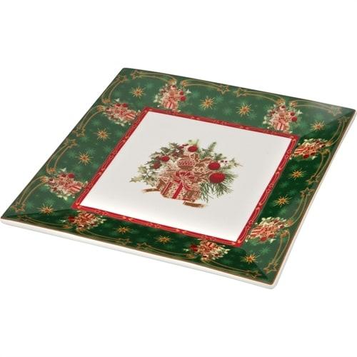 Блюдо из фарфора «Новогодний подарок» (Christmas Collection) M-586287