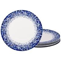 Набор из 6-ти фарфоровых десертных тарелок M-770171