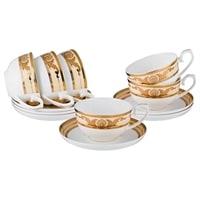 Чайный набор из костяного фарфора на 6 персон «Империал»