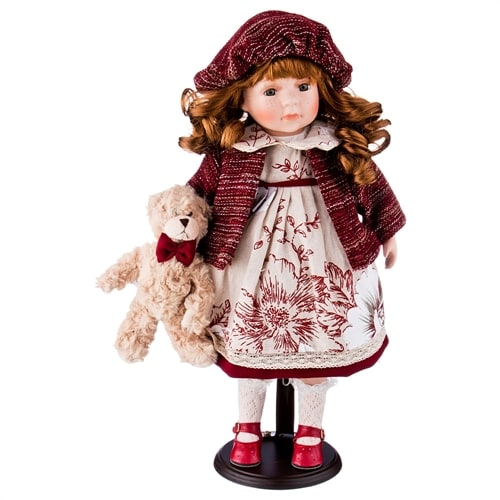 Кукла фарфоровая M-346253