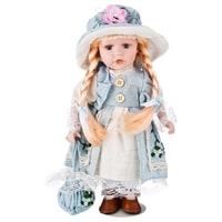 Кукла фарфоровая M-346259
