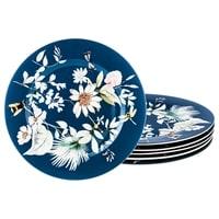 Набор из 6-ти фарфоровых десертных тарелок «Летний вечер»
