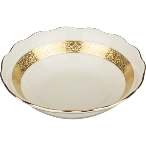 Глубокая суповая тарелка из фарфора «Луксор» M-662628