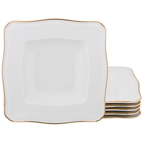 Набор из 6-ти фарфоровых суповых тарелок «Arno» M-662714