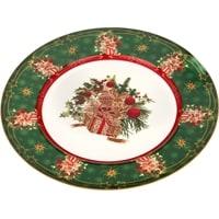 Тарелка  фарфоровая «Новогодний подарок» (Christmas Collection) M-586314