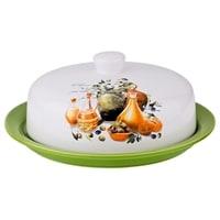 Блюдо для блинов «Греческая оливка» M-230205