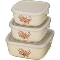 Набор из 3-х блюд для заливного «Корейская роза» M-388209