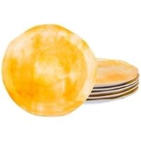Набор из 6-ти десертных тарелок «Солнечный свет» коллекция «Парадиз» M-189213