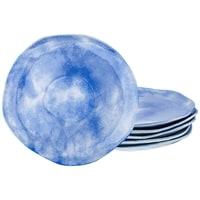 Набор из 6-ти десертных тарелок «Голубая лагуна» коллекция «Парадиз» M-189214