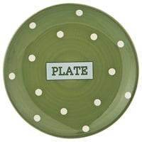 Тарелка десертная «Green plate» M-230264