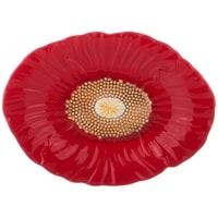 Блюдо овальное «Маковый цвет» M-3581454